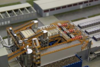 Industriemodell, technisches Modell