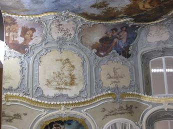 Museumsmodell Barockzimmer Schloss Enger