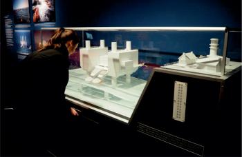Wellenkraftwerk Modell Museumsmodell